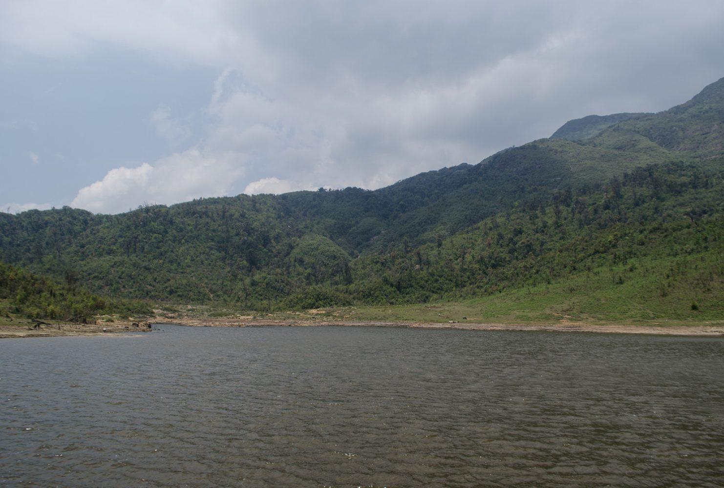 Озеро наверху