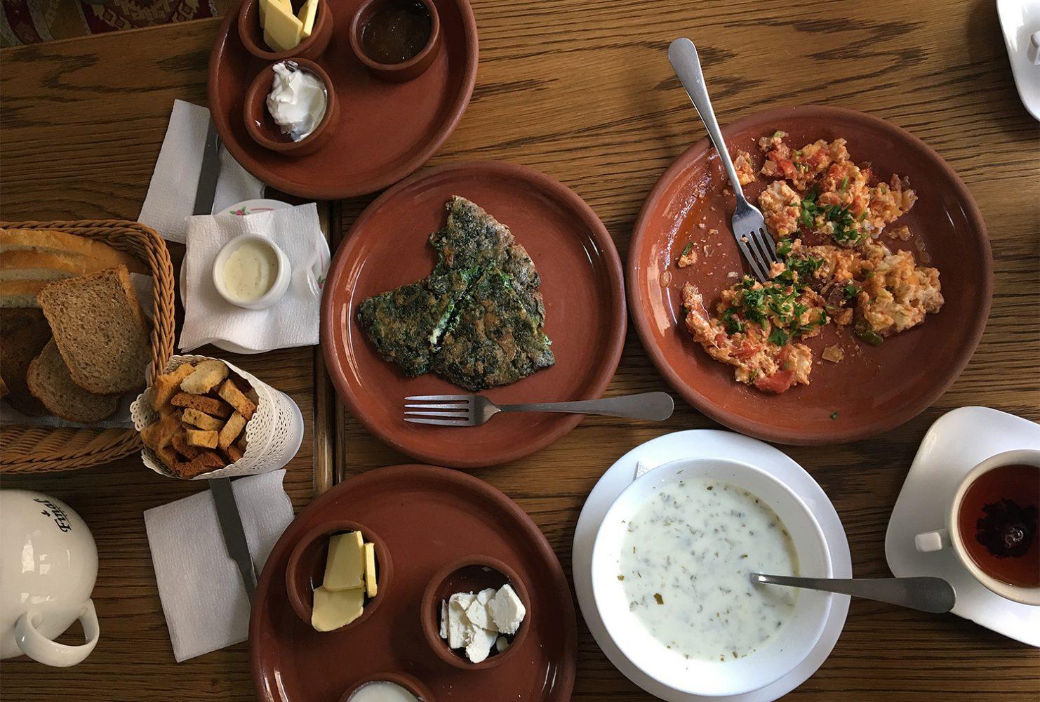 Завтрак в Баку