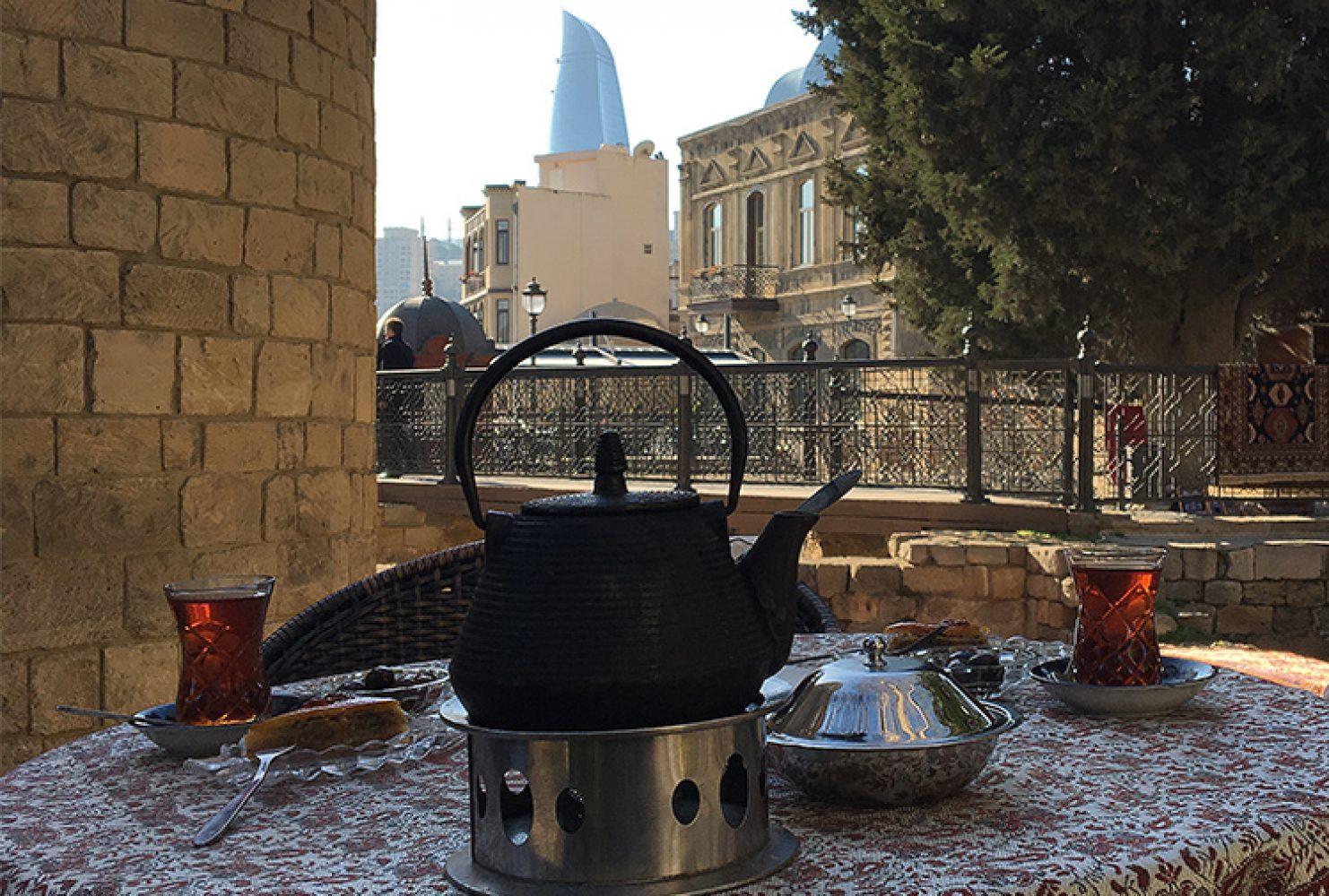 Чайная церемония, Баку